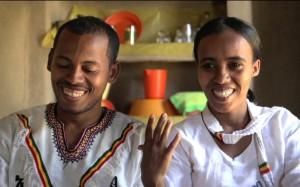 Gebeyehu & Mesghana from Awra Amba